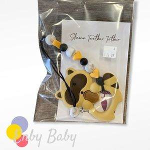 Raccoon Chewy Teether Baby Toy